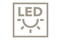 LED osvětlení pro lepší nasvícení a pro příjemné kuchyňské prostředí